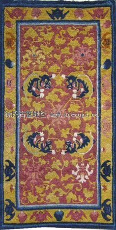 蒙古族绣花毡和家具装饰的传统形式